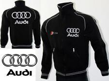 Audi S-Line Fleece Jacket Polar Jacke Coat Blouson Outdoor Sweat Racing Gift