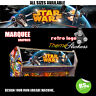 Starwars v4 Arcade Artwork Marquee Stickers Graphic / Laminated All Sizes