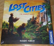 Lost Cities The Board Game by Reiner Knizia Thames & Kosmos Card Tactics