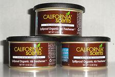 California Scents 3 Duftdosen Caliente Coffee ►Kaffee  + 3 Deckel