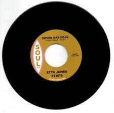 ETTA JAMES Seven Day Fool / DOUG BANKS I Just NEW NORTHERN SOUL 45 (SOUL TRIBE)
