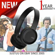 JVC HAS30BTBE Deep Bass On Ear Headphones│Wireless│Bluetooth│Foldable│Black│NEW