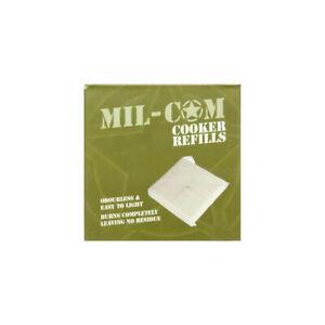 Mil-Com Portable Hexamine Cooker Refill Blocks White