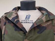"SNAKE PATCH - T-shirt TAN Félin "" Armée de terre RESERVISTE "" guérilla F2 CCE"