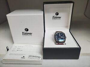 Tutima Saxon One Automatic M Watch on Bund Strap