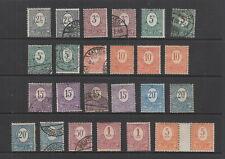 Upper Silesia 1920 ( Feb) values to 5 mark MH or used