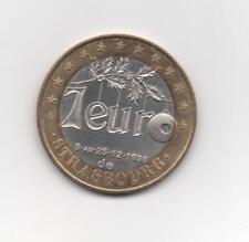 7 euro ville de Strasbourg 1996 n°87 / Jeton  médaille écu euro temporaire