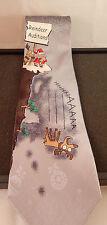 John Ashford Christmas Tie Reindeer Auditions