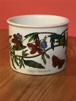 Portmerion Pottery Sugar Bowl Botanical Garden viola Tricolor / Heartsease