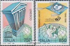 Italië 2474-2475 (compleet Kwestie) postfris MNH 1996 50Jahre UNESCO / UNICEF