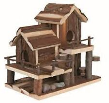 Trixie Natural Living Birte Wooden Hamster House Mice 2 Storey Cage Ladder 61779