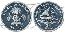 Maldive - Monete commemorative- Anno: 1978 - numero KM00058a - PROOF 25 Rufiya