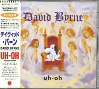 David Byrne Uh-Oh JAPAN CD with OBI WPCP4777