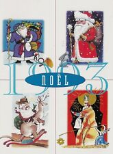 Canada 1993 Holiday Season Card From National Philatelic Center With Signatures