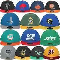 New Era NFL Retro Historic Throwback Heritage Logo Collection 5950 Fitted Cap