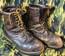 RED WING boots 12 D f2413-05 STEEL TOE Electrical Hazard Good Used Condition 12D