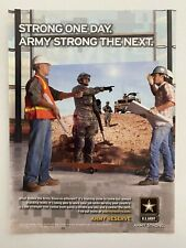 U.S. Army Army Strong 2007 Print Ad