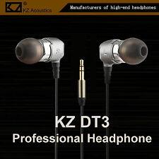 KZ DT3 Professional High-End Double Unit Headphone Kopfhörer In-Ear PU Hardcase