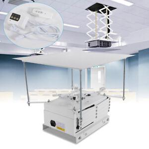 220V Motorisierter Projektorhalterung Aufzug Beamer Lift mit FERNBEDIENUNG 1M