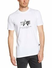 Alpha Industries Uomini T-shirt Basic XL Bianco - 7844