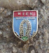 Antique Wiener Riesenrad Giant Ferris Wheel Vienna Austria Souvenier Pin Badge