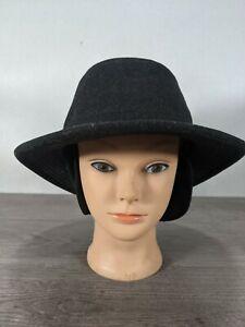 Tilley Endurables Tec-Wool Felt Size 7 3/8 Outdoor charcoal Winter Hat  Fedora