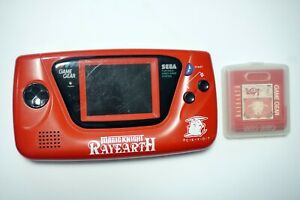 Sega Game Gear console red Magic Knight Rayearth Limited Edition GG System