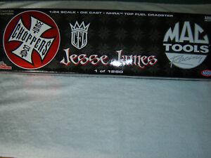 SCOTT KALITTA 2005 JESSE JAMES MAC TOOLS 1/24 TOP FUEL DRAGSTER RC2 SEALED PKG
