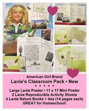 American Girl_Lanie's Nature Activity Kit + Poster_Teacher - Classroom Set _NEW