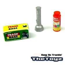 RC Scale Drift, Crawler Miniature Trash Bag Box Flashlight Bug Spray 55067