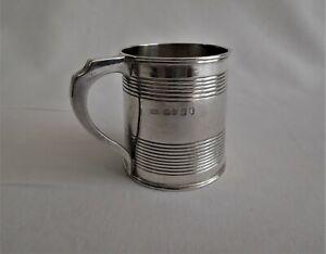 Antique sterling silver Christening mug c 1824 Geo lV London United Kingdom.