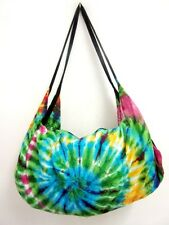 JK 41 BAG CROSSBODY TIE DYE SLING UNIQUE BACKPACK UNISEX HANDMADE BOHO HALFMOON