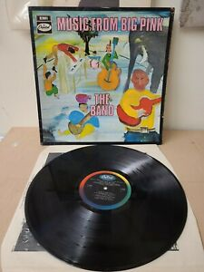 THE BAND MUSIC FROM BIG PINK  RARE 1968 1ST UK CAPITOL Mono PRESS VINYL LP
