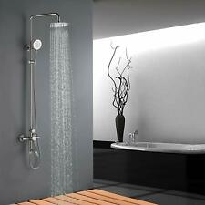 SUS304 Stainless Steel Rain Shower Set with Spray Faucet