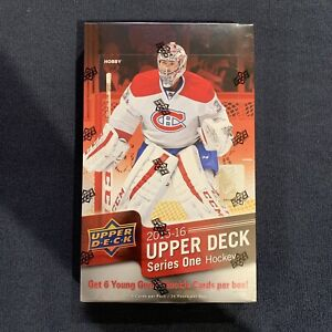 2015-16 Upper Deck Series 1 One Hockey Hobby Box Sealed McDavid Young Guns UD
