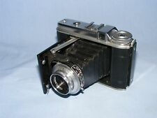 Vintage Voigtlander Perkeo I Camera 120 Roll Film Camera, Vaskar 75mm f/4.5 Lens