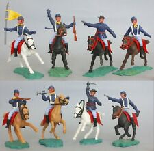 Timpo A Set Plastic Mounted 7th Cavalry Figures