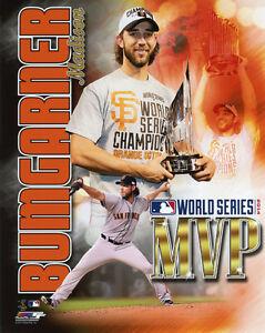 2014 MADISON BUMGARNER World Series MVP 8x10 Photo Poster San Francisco Giants