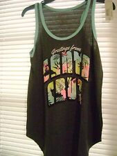 Greetings from Santa Cruz Racer Back Tank Top Large Super Soft NWT