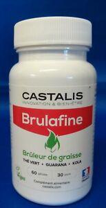 CASTALIS - BRULAFINE - BRULEUR DE GRAISSE - 60 GELULES - 07/2023*
