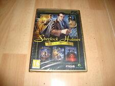 SHERLOCK HOLMES ANTHOLOGY DE FOCUS HOME INTERACTIVE PARA PC NUEVO PRECINTADO