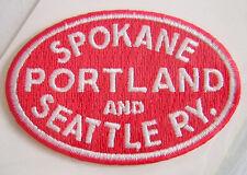 SPOKANE PORTLAND and SEATTLE RY Railroad PATCH
