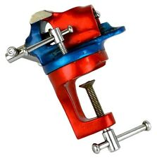 """Jewelers 1-1/2"""" Revolving Bench Clamp Vise Jewelry Making Tool Hobby Table Vice"""