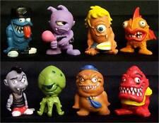 "New FREAKY GEEKS Bulk 20 pieces 1"" Figures Figurines Vending Toys"