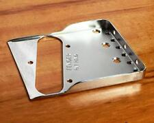 Fender Tele/Telecaster Custom Bridge-Plate w/Hybrid Double Flange Notches