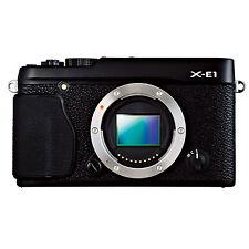 Fuji X Series X-E1 Black 16 Megapixel Mirrorless APS-C Digital Camera Body