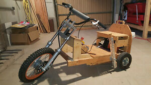 Gocart Trike Kindermoped Motocross Gabel zum Basteln Kettcar Pocket