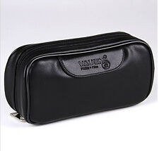 New PU Leather VAUEN Durable Portable TOBACCO Smoking Pipe Pouch Bag FOR 2 PIPES