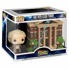 Funko Pop! Town: Back to The Future - Doc with Clock Tower Pop! Town