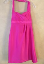 Alfred Angelo Hot Pink Special Occasion Halter Dress XS